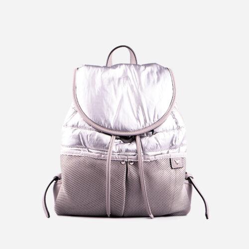 bolso mochila plata 27118