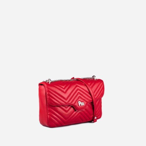 bolso bandolera rojo 35113
