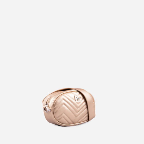 bolso bandolera dorado 35114