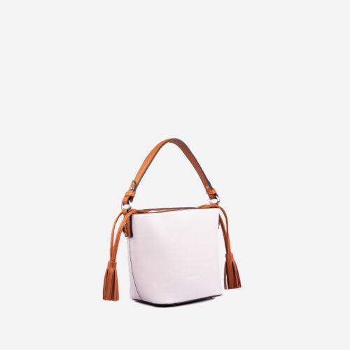 bolso de hombro blanco 51140
