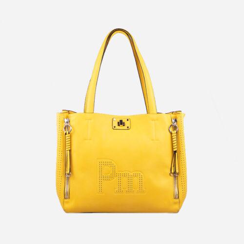bolso de hombro amarillo 22115