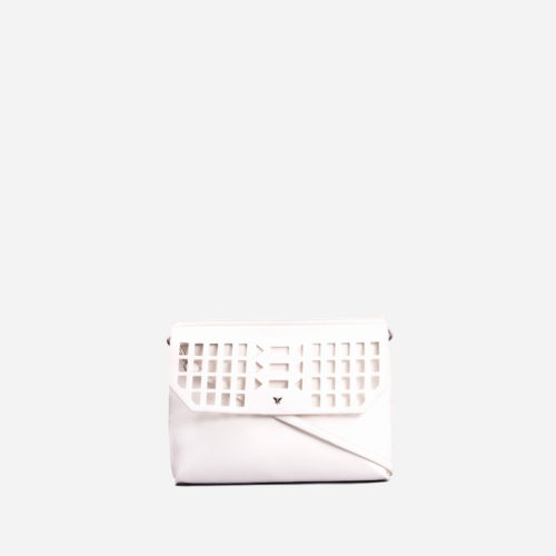 bolso de mano blanco 61027