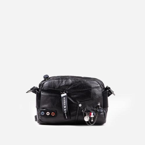 bolso bandolera negro 25123
