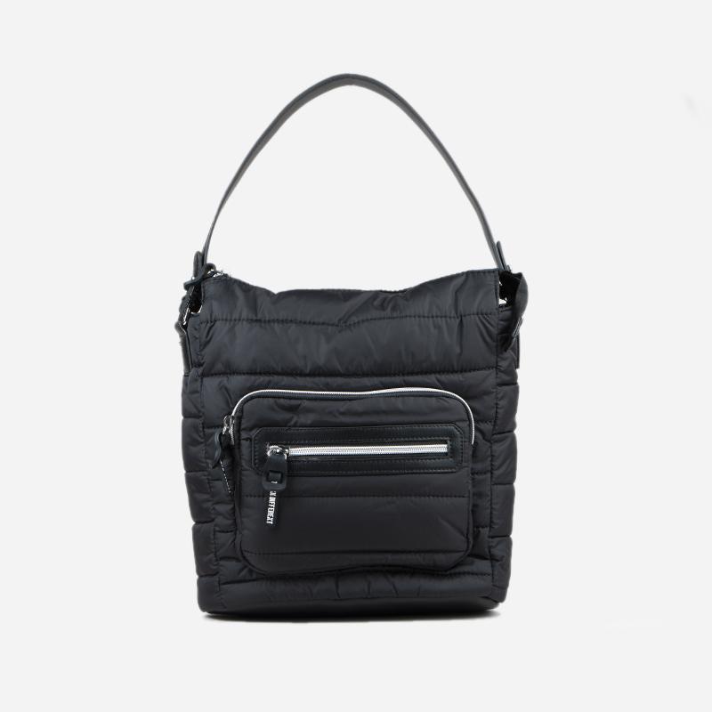 bolso de hombro negro 26122
