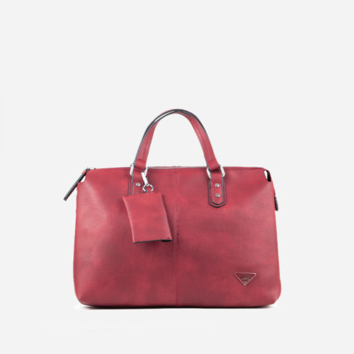 bolso de mano rojo 45115