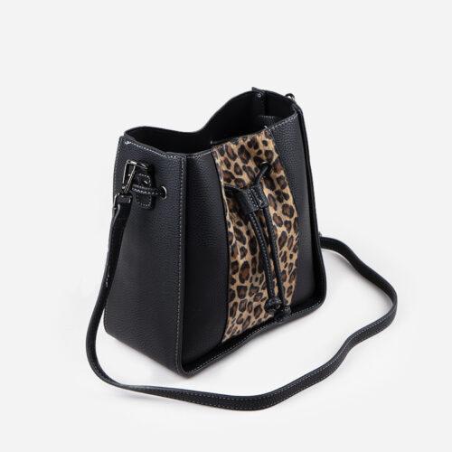 bolso de hombro leopardo 49115