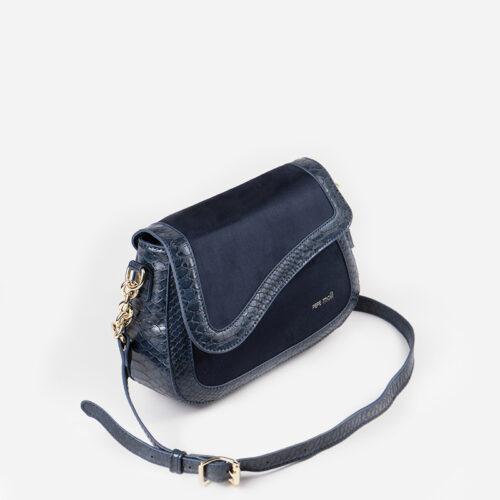 bolso bandolera azul 51150