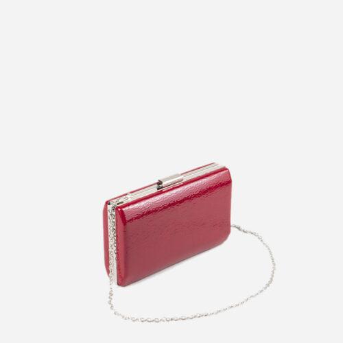 bolso de mano rojo 56042