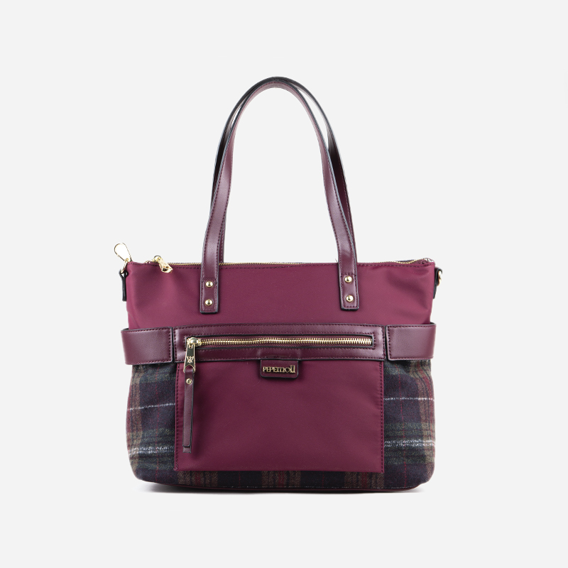15115_tartan_multi_bordo_nylon_bordo_frente