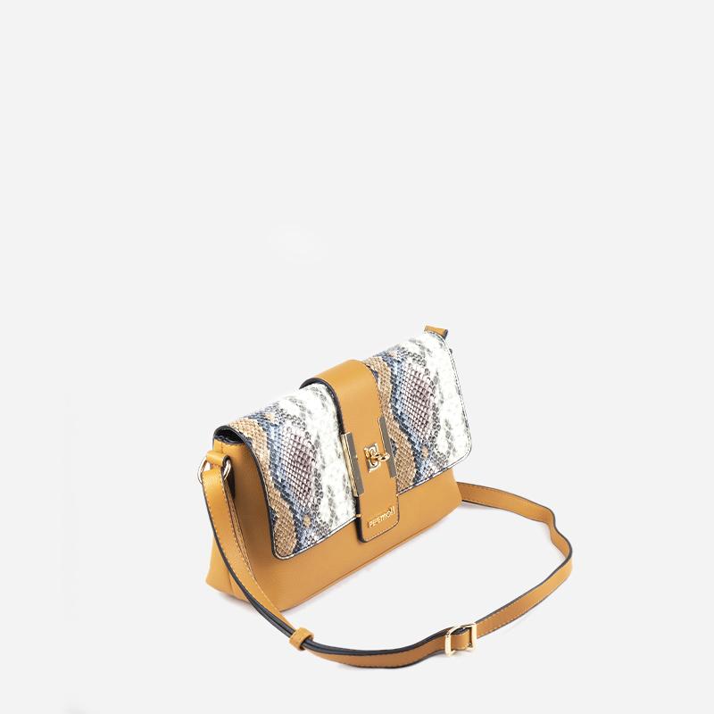 bolso bandolera bicolor 24116