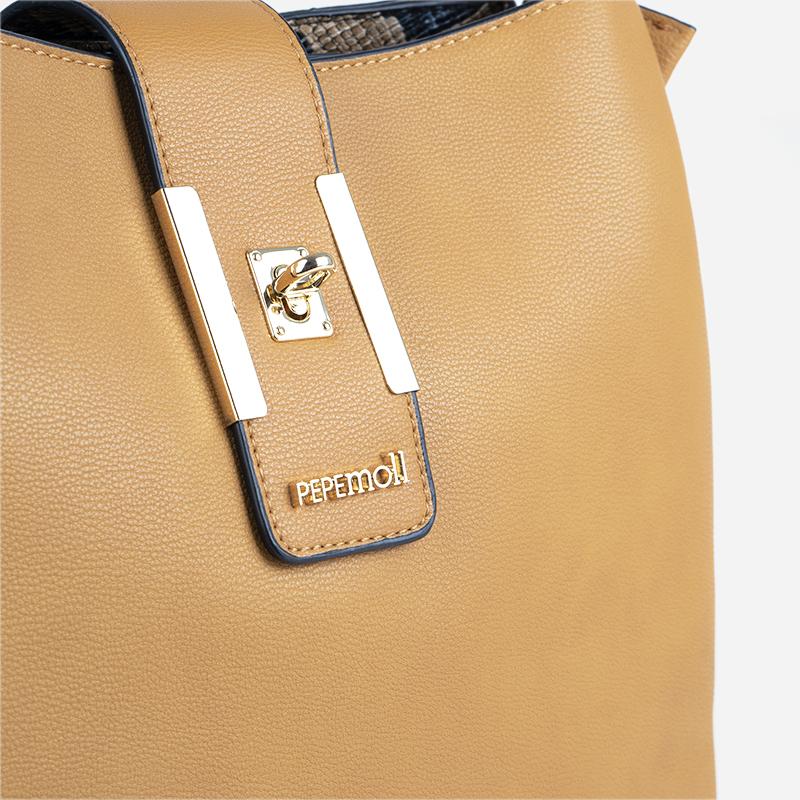 bolso de hombro amarillo 24117