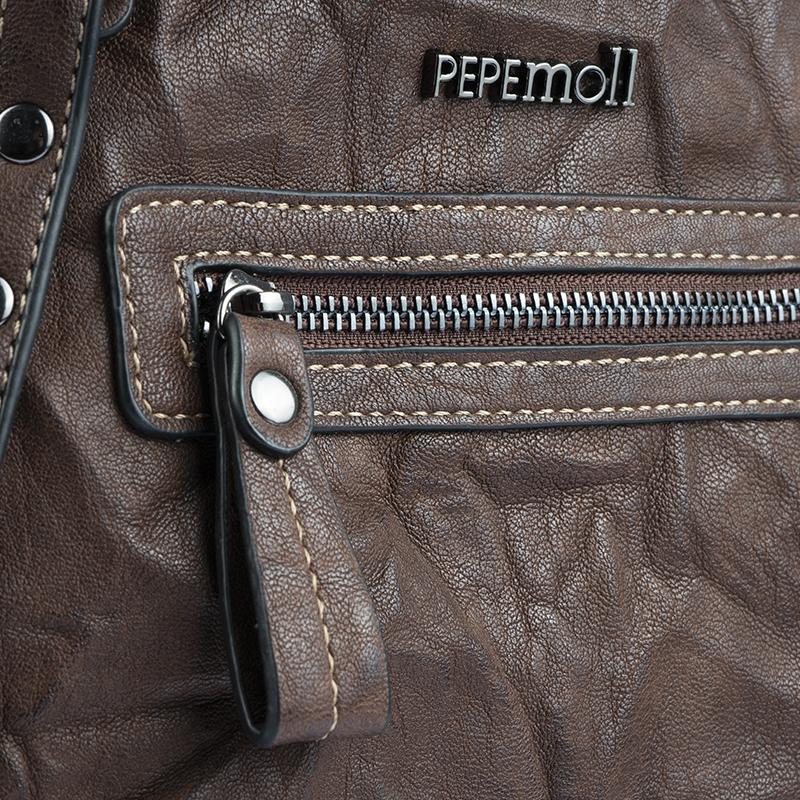 bolso mochila marron 40118