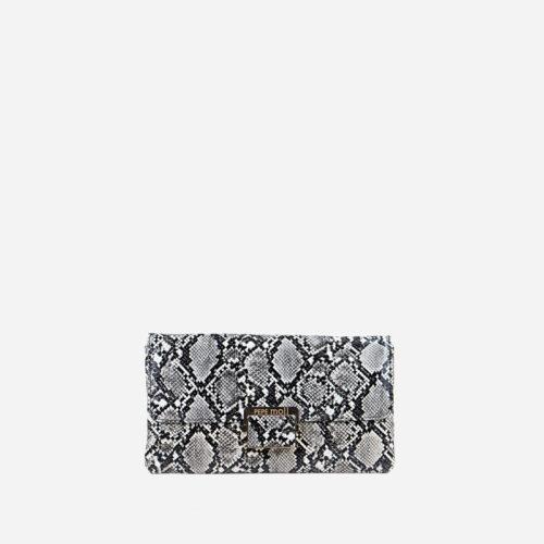bolso de serpiente bicolor 56040