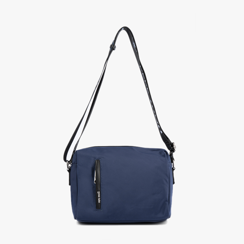 BOLSO BANDOLERA NAILON NAVY 21127-frontal