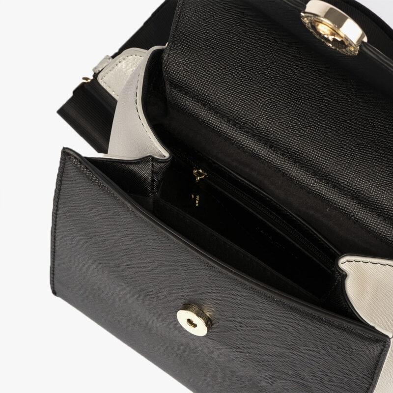 bolso bandolera negro pepemoll 14126 interior