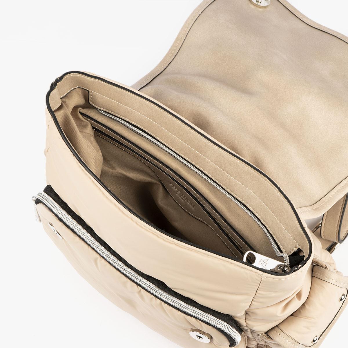 20125 bolso mochila beige