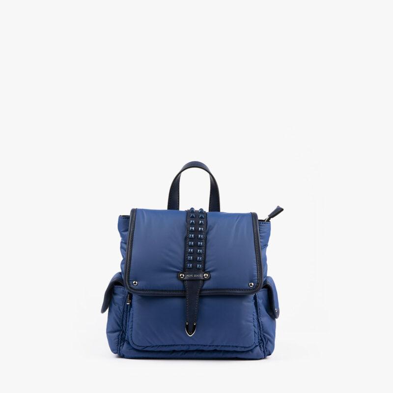 20125 bolso mochila azul frontal