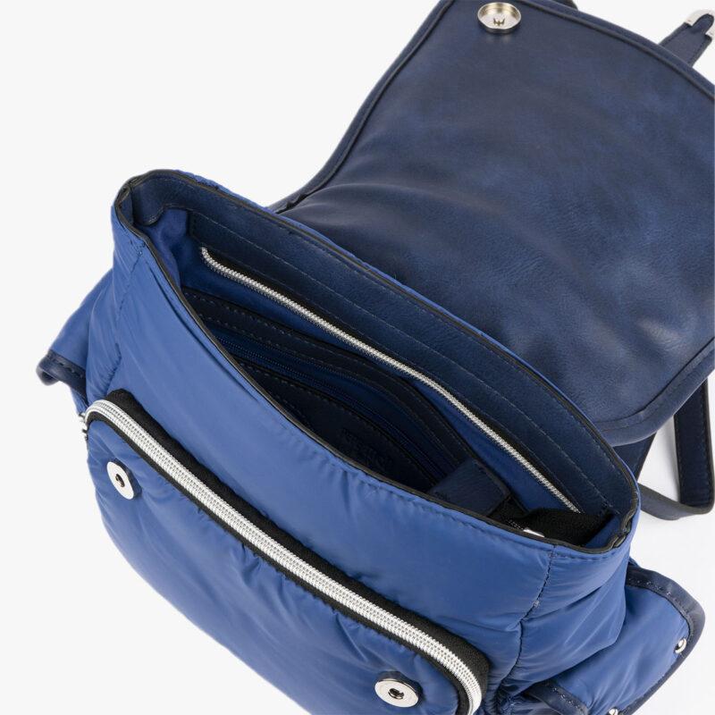 20125 bolso mochila azul interior