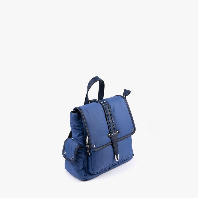 20125 bolso mochila azul perfil