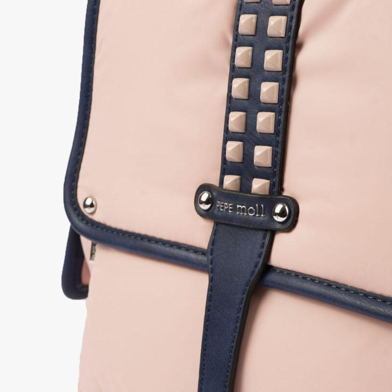 20125 bolso mochila rosa pepemoll detalle