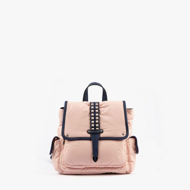 20125 bolso mochila rosa pepemoll frontal