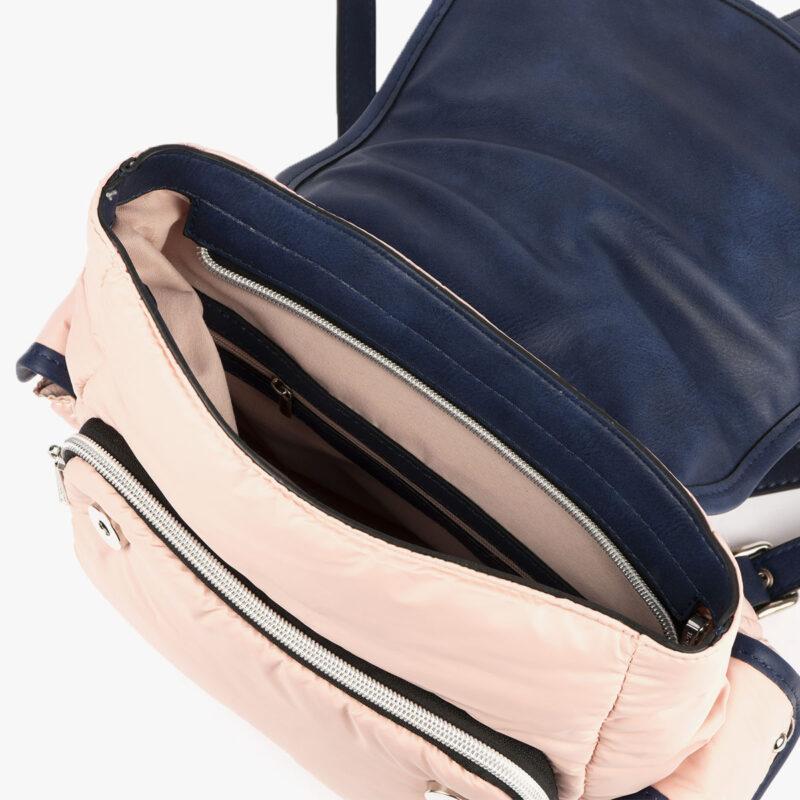 20125 bolso mochila rosa pepemoll interior