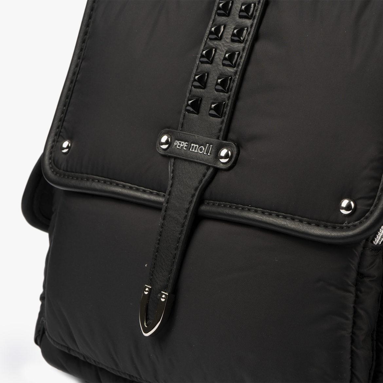 20125 bolso mochila negro pepemoll
