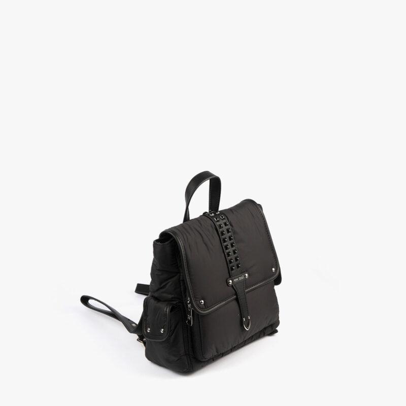20125 bolso mochila negro pepemoll perfil