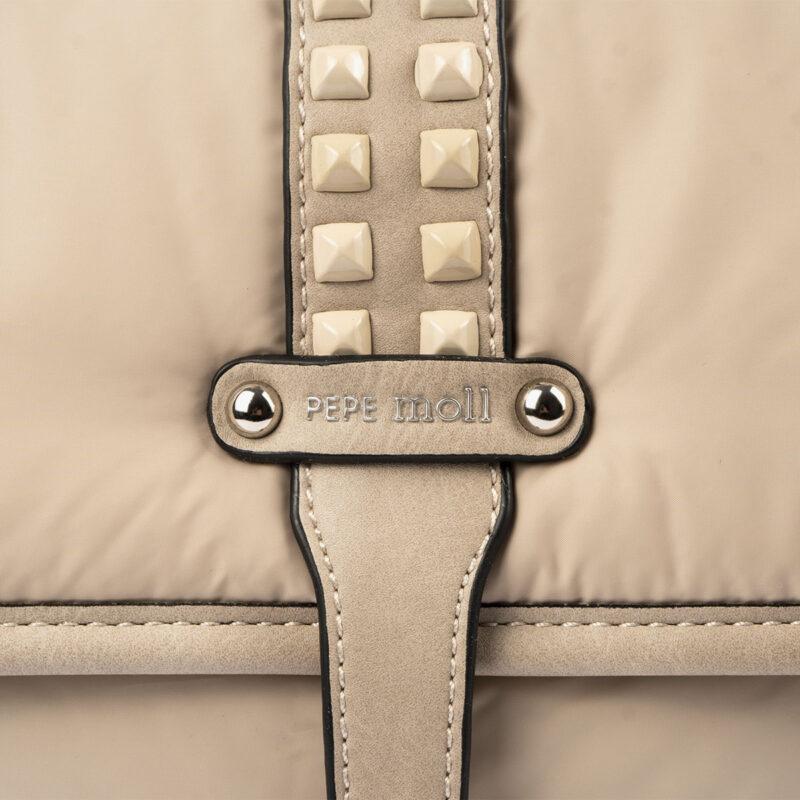 20126 bolso mochila beige pepemoll detalle