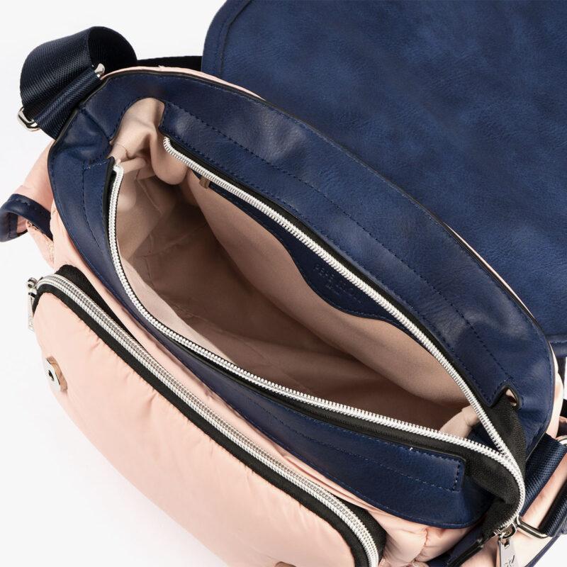 20126 bolso bandolera rosa pepemoll interior