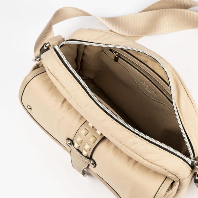 20127 bolso bandolera beige interior