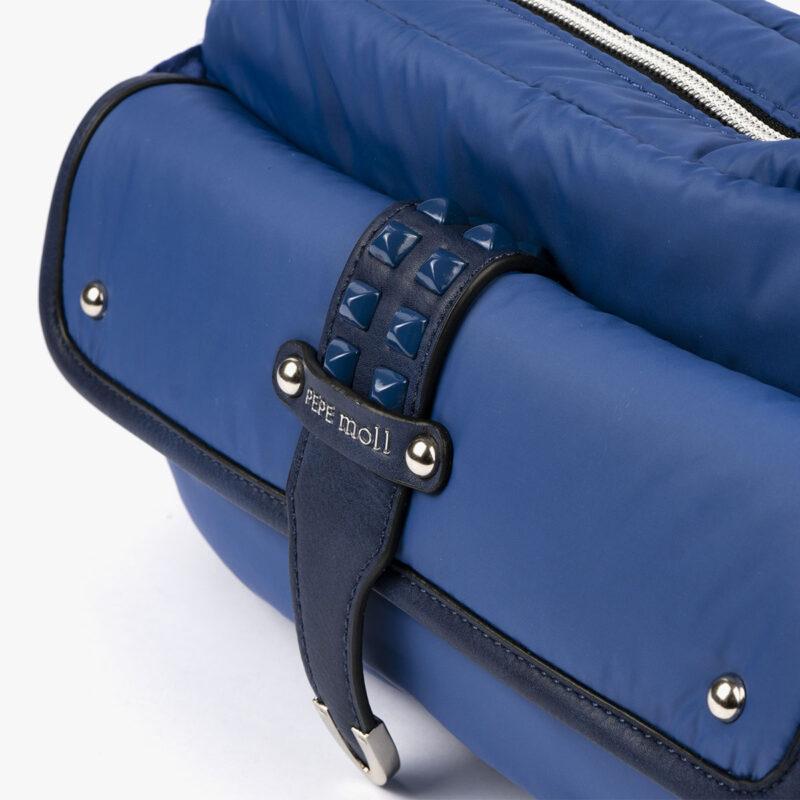 20127 bolso bandolera azul detalle