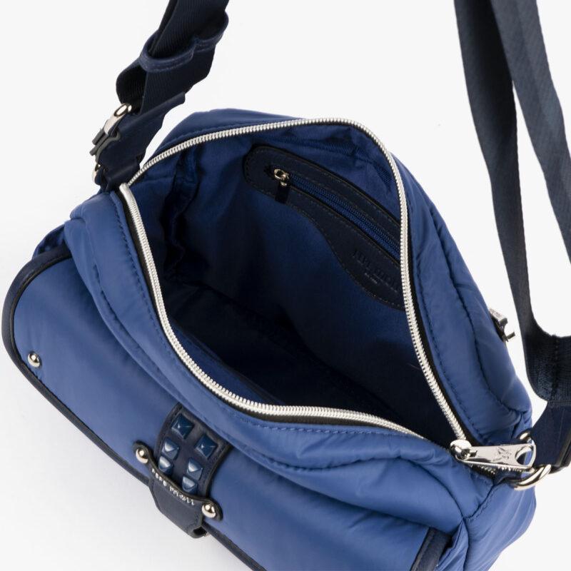 20127 bolso bandolera azul interior