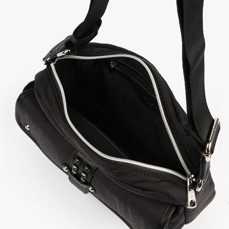 20127 bolso bandolera negro interior