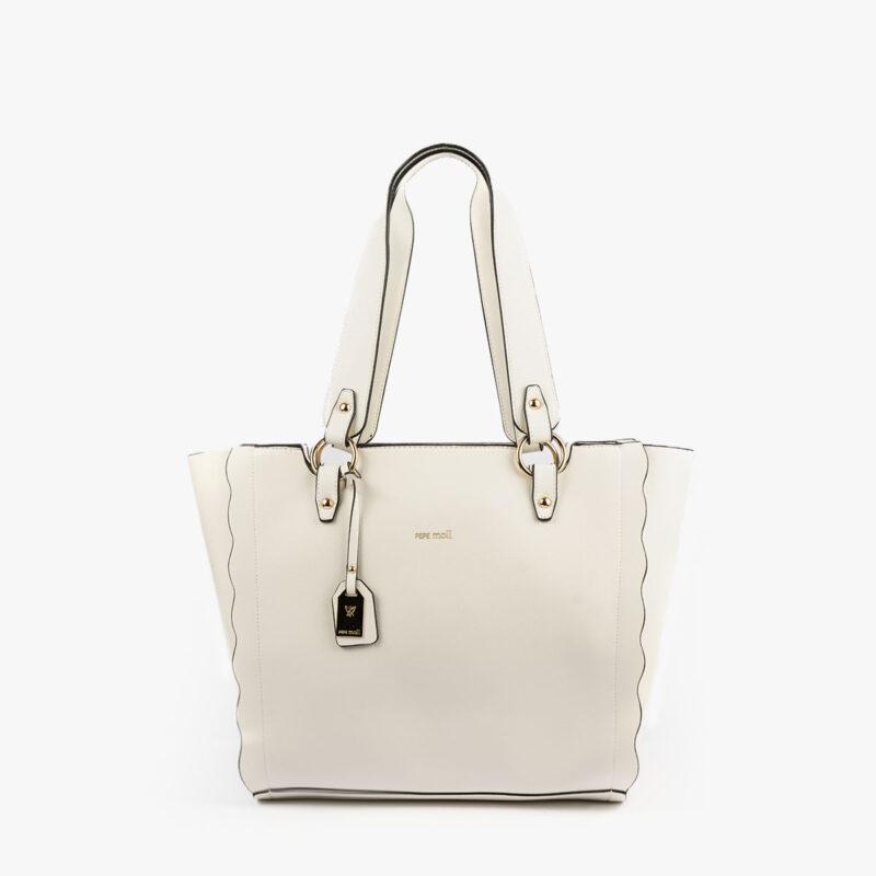 bolso de hombro blanco 22120 frontal
