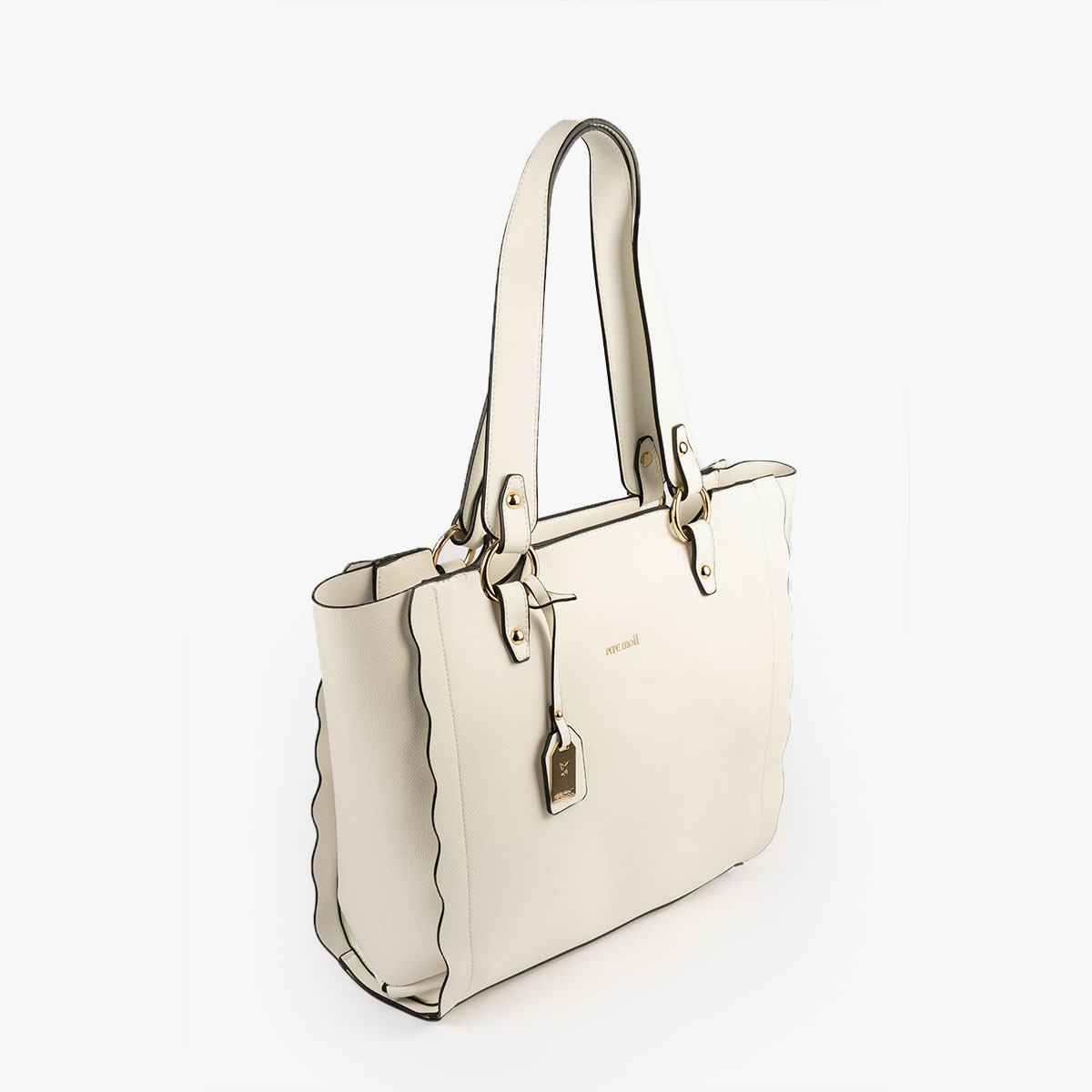 bolso de hombro blanco 22120