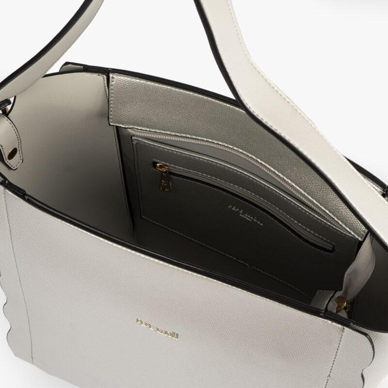 bolso de hombro plata pepemoll 22121 interior