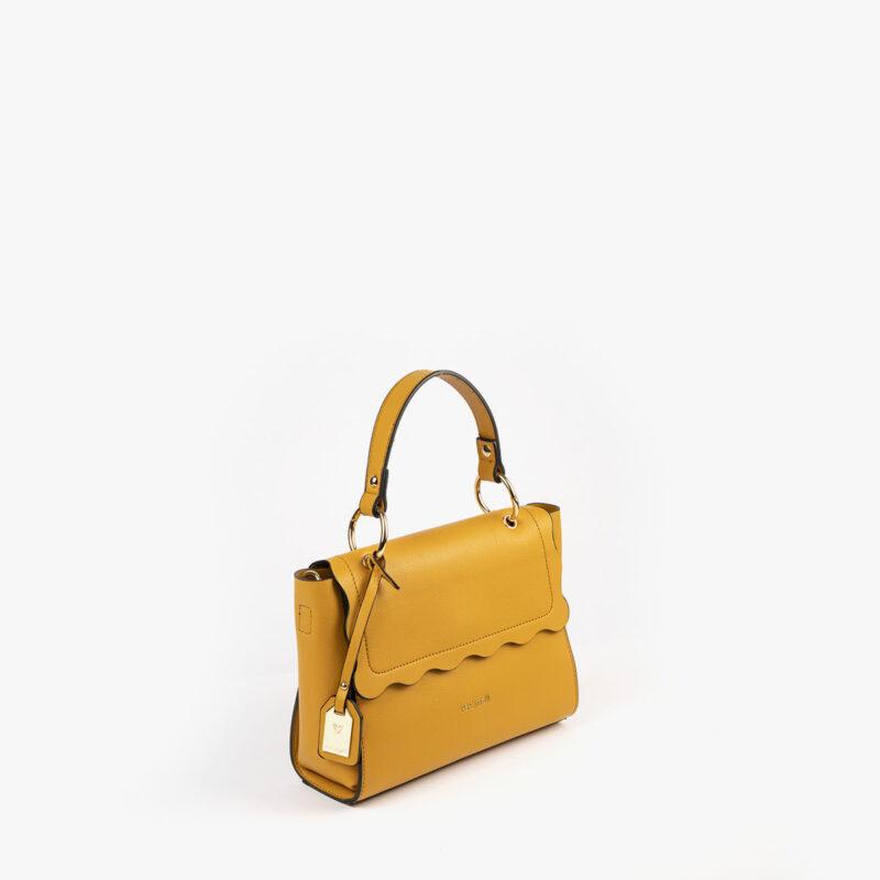 bolso de mano amarillo 22122 perfil