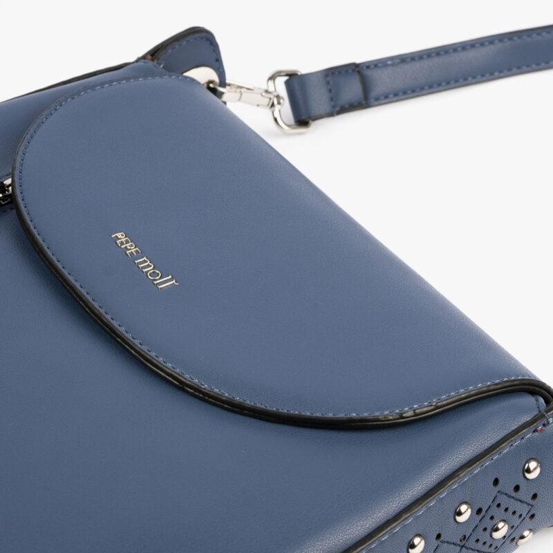 27125 bolso bandolera azul pepemoll detalle
