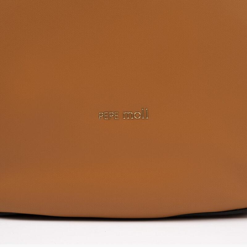 Bolso de hombro cuero pepemoll detalle
