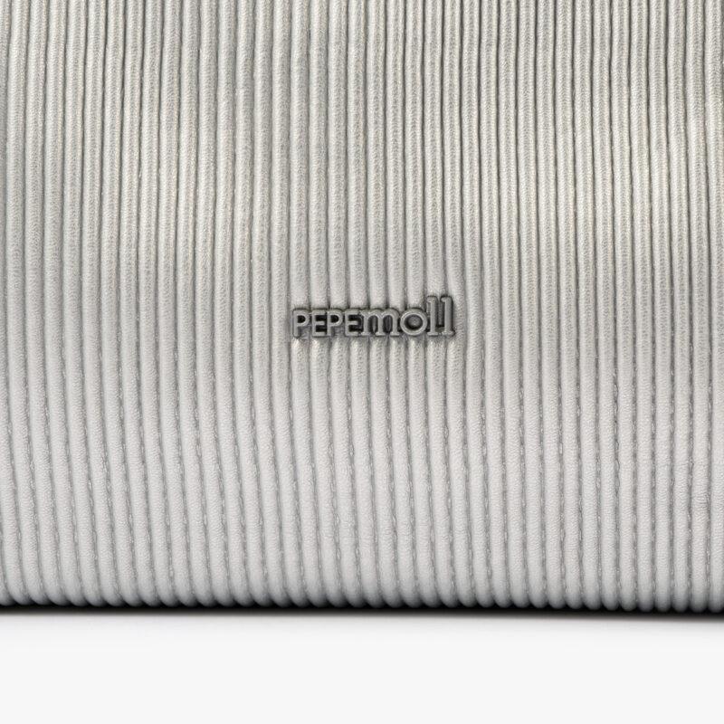 44120 bolso mochila plata pepemoll detalle
