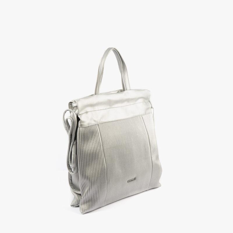 44120 bolso mochila plata pepemoll perfil