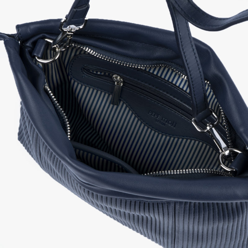 44121 bolso bandolera azul pepemoll interior