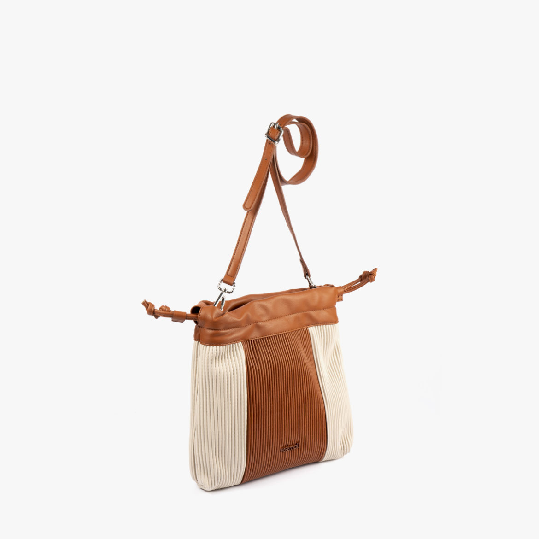 44121 bolso bandolera camel/beige pepemoll