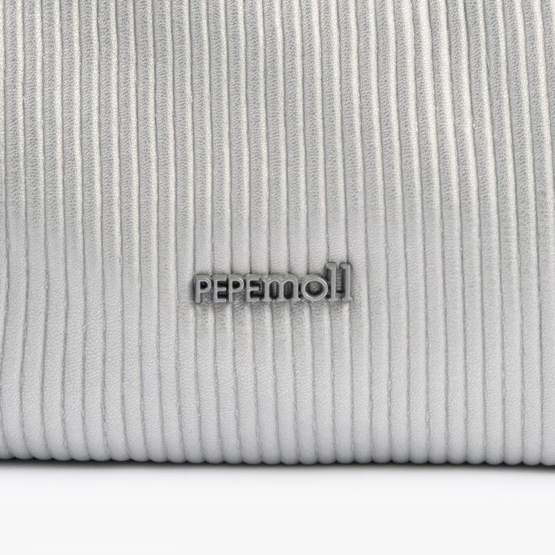 44121 bolso bandolera plata pepemoll detalle