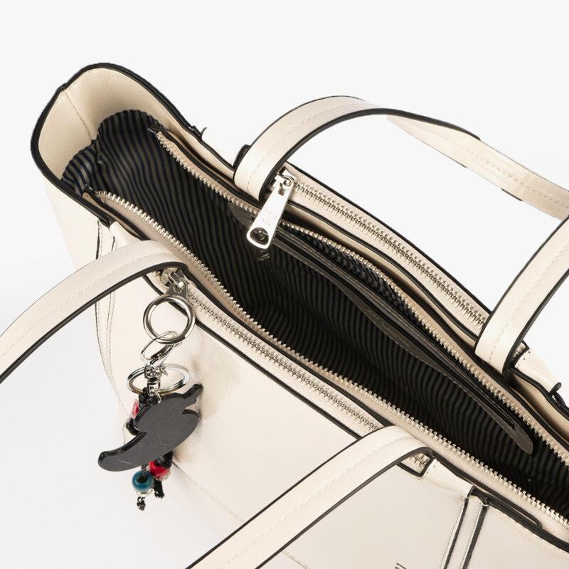 49116 bolso de hombro blanco pepemoll interior
