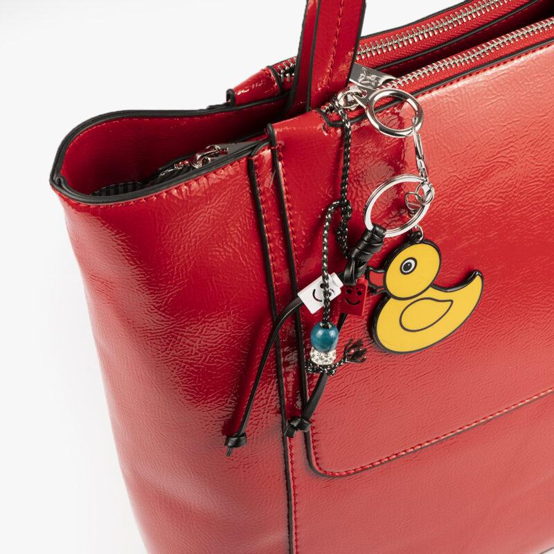 49116 bolso de hombro rojo pepemoll detalle