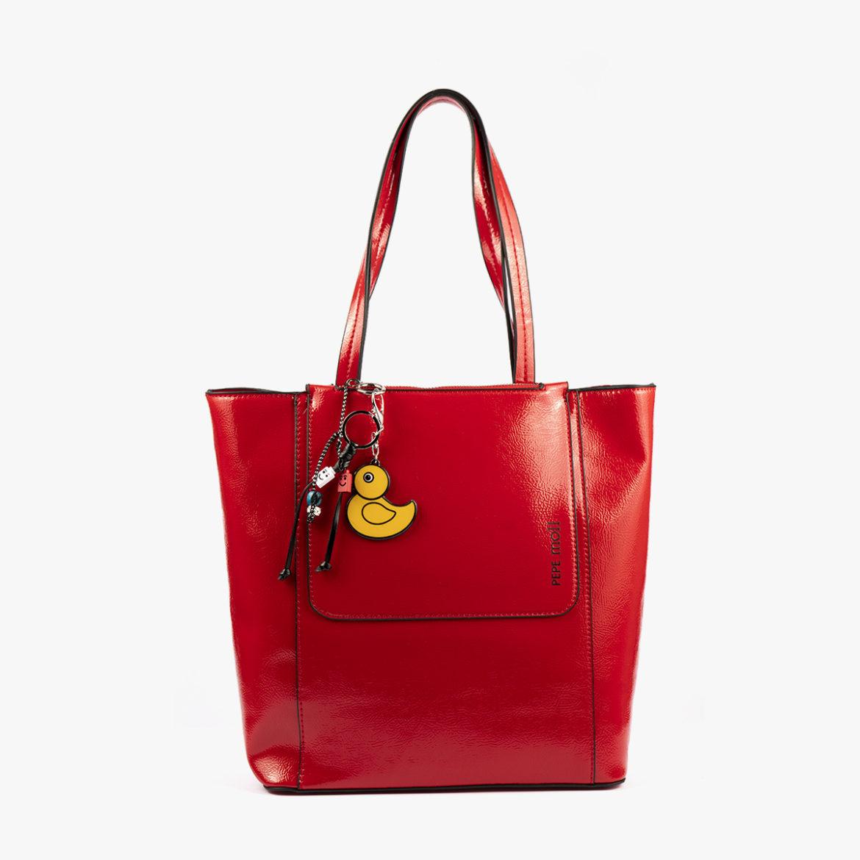 49116 bolso de hombro rojo pepemoll