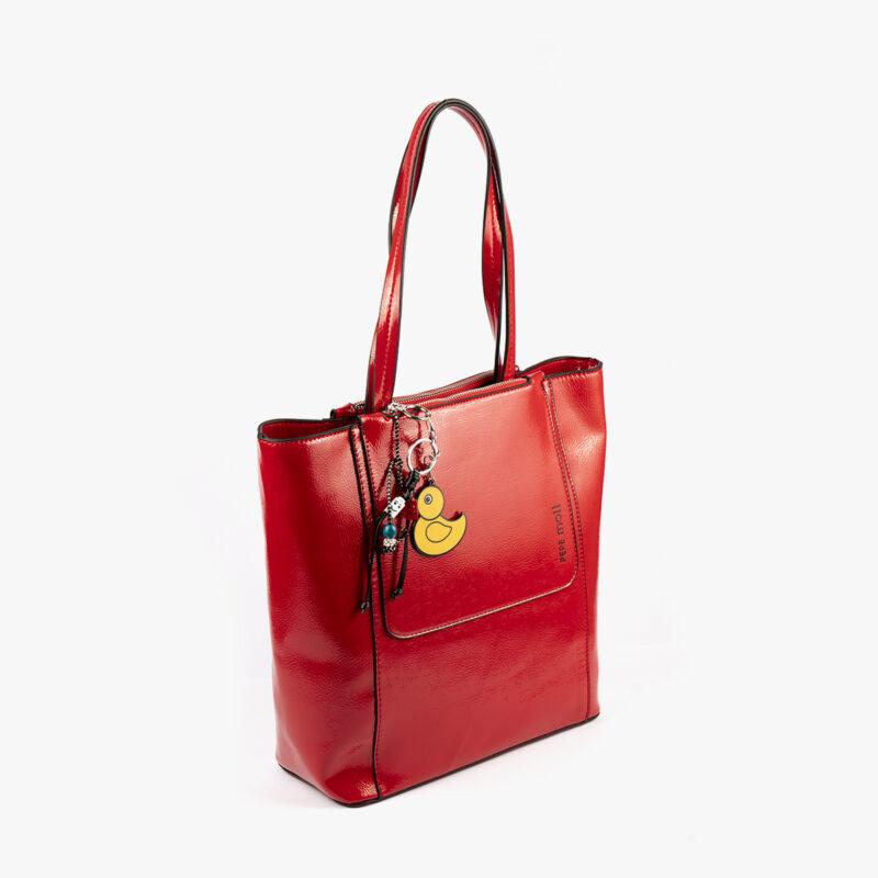49116 bolso de hombro rojo pepemoll perfil
