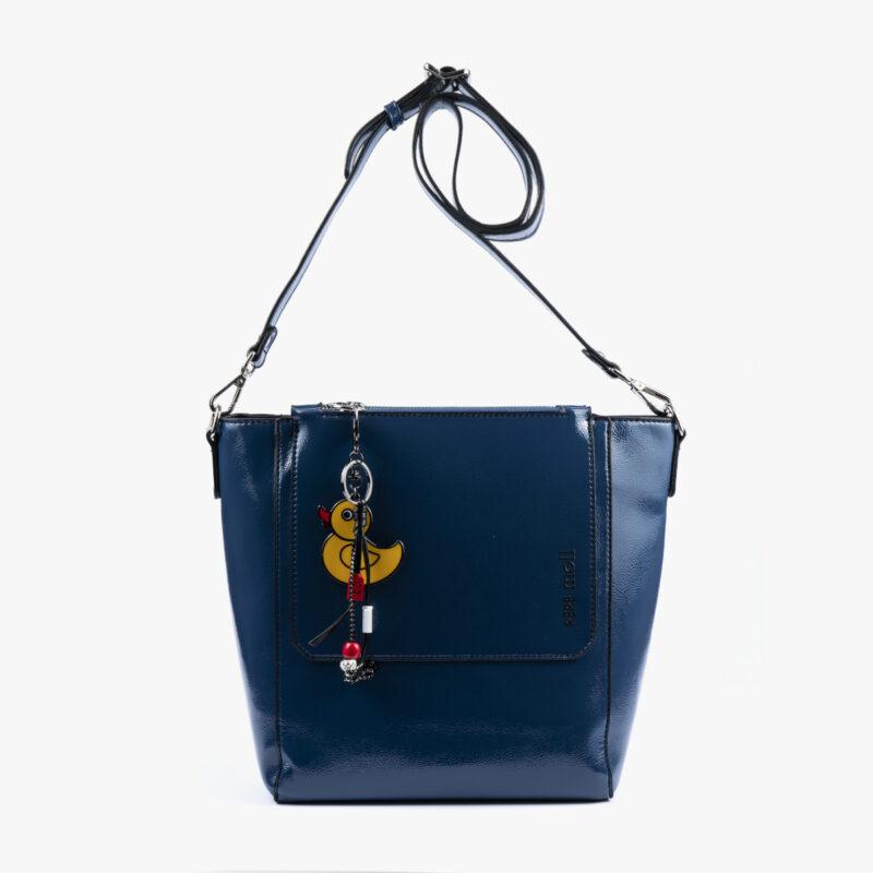 49117 bolso bandolera azul frontal